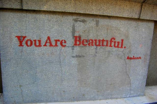 You Are Beautiful by Keizer on Mahmoud Bassiony Street